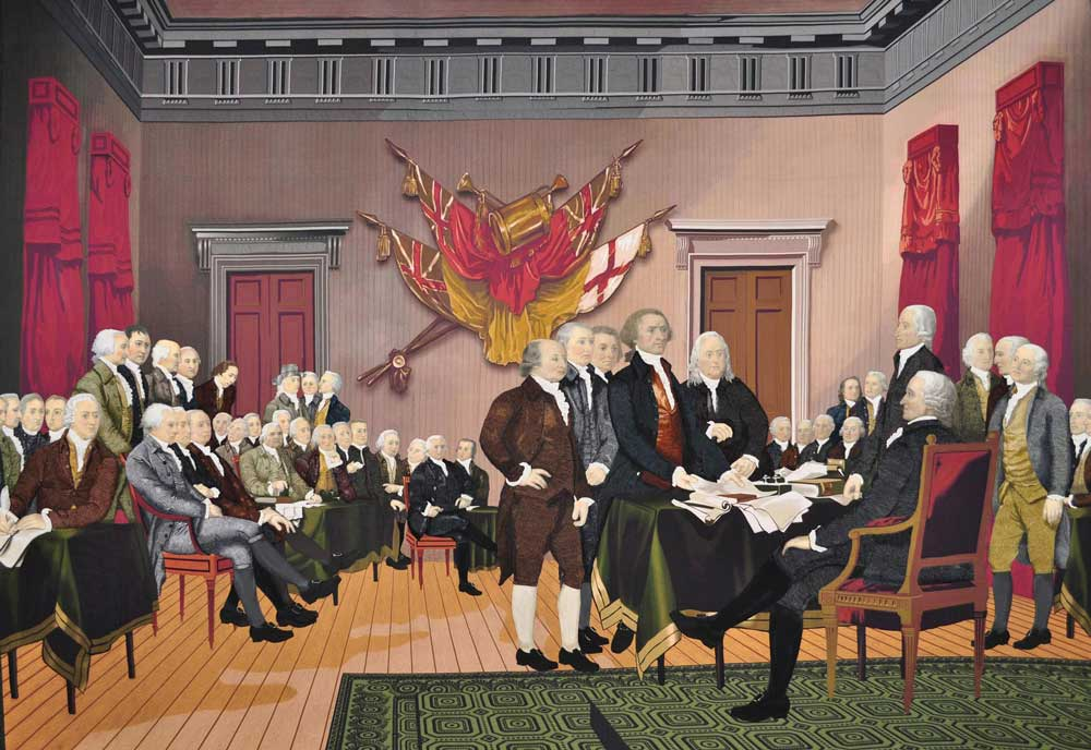 Declaration of Independence The Quilt