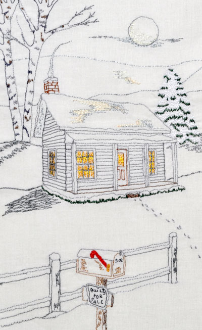 Thread Sketching Award Winning Quilter Nancy Prince